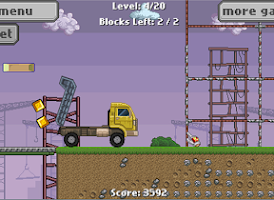 Screenshot of Semi Truck Driver – Kids Game