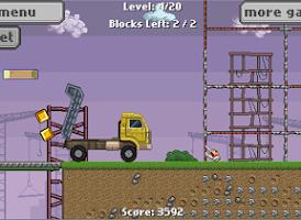 Screenshot of Semi Truck Driver – Kids Game