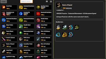 Screenshot of League of Legends Platform LOL