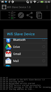 WiFi Slave Device Lite - screenshot