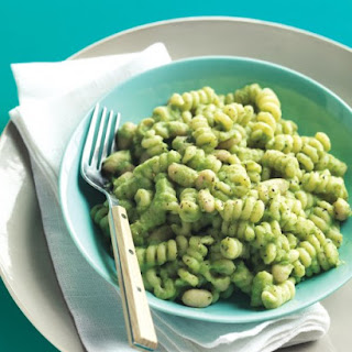 Pasta and White Beans with Broccoli Pesto