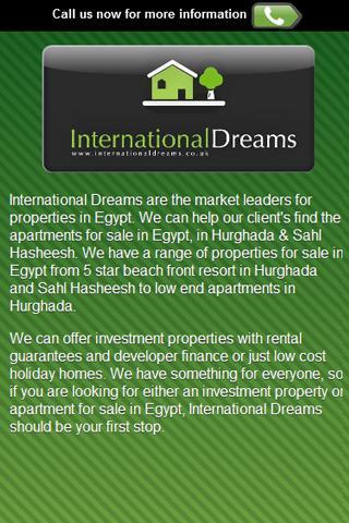 International Dreams Property