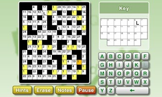 Screenshot of Puzzler Codewords