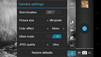 Screenshot of Camera ICS