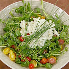 Teardrop Tomato and Watercress Salad with Crabmeat Ravigote