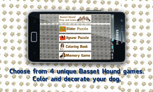 Basset Hound Dogs Puzzles