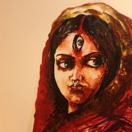 by Bodhisatya Ghosh - Painting All Painting