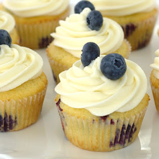 Blueberry Cheese Cupcakes Recipes