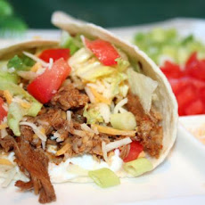 Crock Pot Burrito Meat