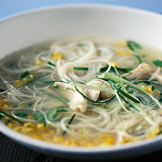Asian-style Chicken Noodle Soup