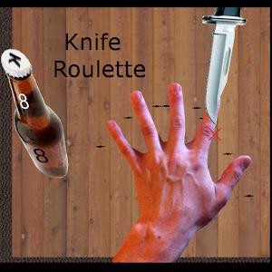 Roulette knife