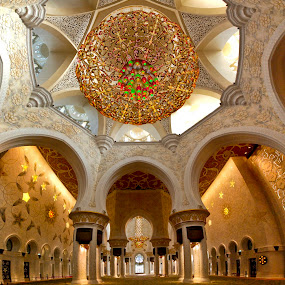 The Abu Dhabi Grand Mosque by João Ferreira - Buildings & Architecture Places of Worship ( abu dhabi mosque )