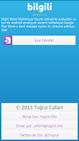 Screenshot of Bilgili
