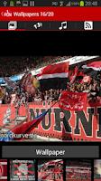 Screenshot of 1. FC Nuremberg App