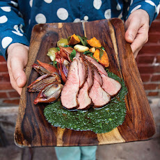 Roast Pork with Summer Vegetables