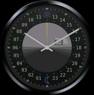 24h Analog Watch Face - screenshot