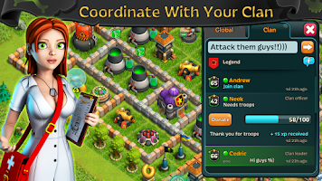 Screenshot of Battle of Zombies: Clans MMO