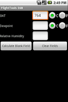 Screenshot of FlightTools E6B