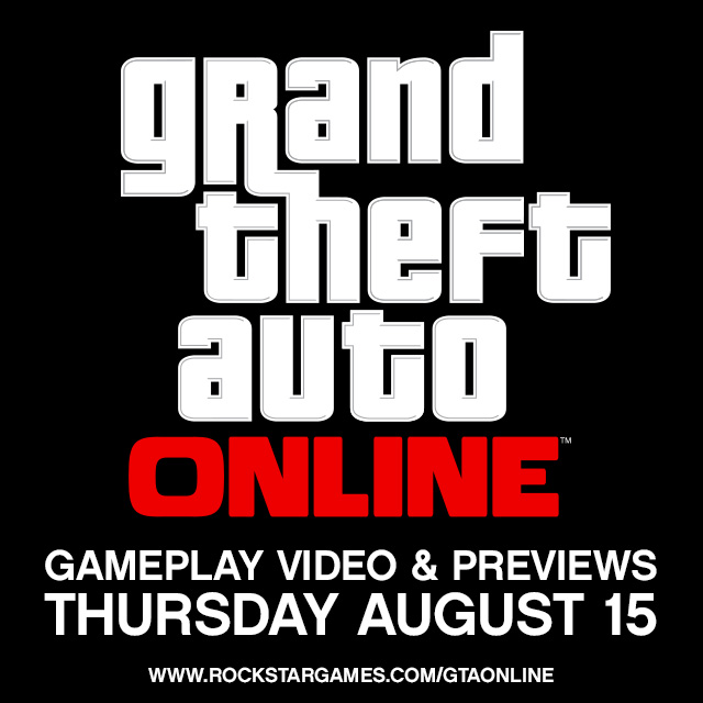 Grand Theft Auto Online gameplay reveal coming this week