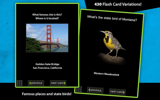 Flashcards - United States - screenshot