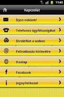 Screenshot of Raiffeisen Mobil Alkalmazás
