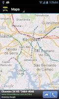 Screenshot of Metro Droid (São Paulo)