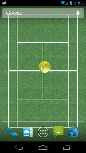 Tennis Bounce LiveWallpaper