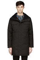 Canada Goose Black Down Branta Collection Bellwood Coat
