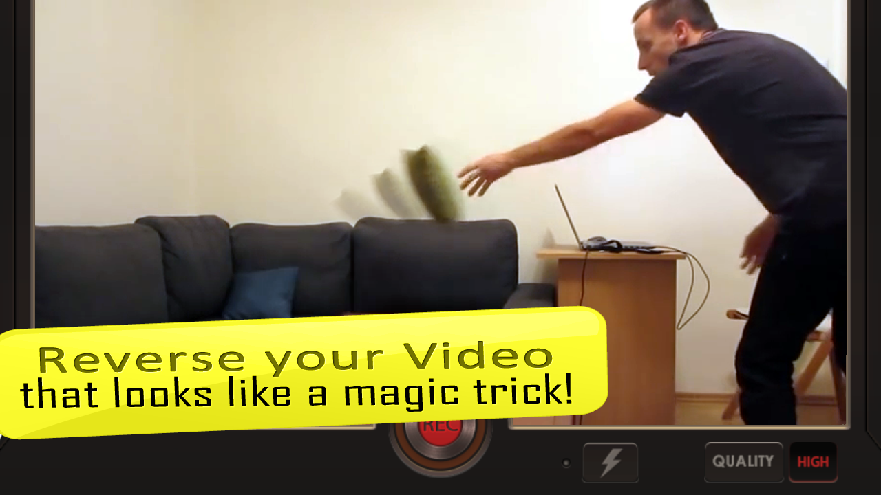 Reverse Movie FX - magic video Screenshot 7