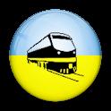 Поезда.Украина icon
