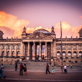 Bundestag by Stuart Lilley - Buildings & Architecture Public & Historical ( building, buildings, germany, architecture, berlin,  )