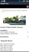 Screenshot of Scotch Plains Public Library