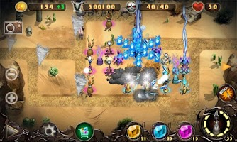 Screenshot of Epic Defense 2 - Wind Spells