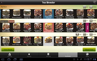 Screenshot of Teavana Perfect Tea Touch