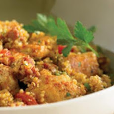Quinoa Paella with Chicken and Chorizo
