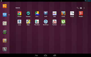 Screenshot of SmartLauncher Theme Ubuntu