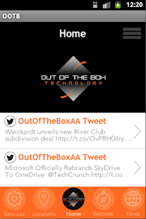 Out of the Box Technology - screenshot