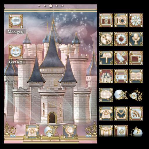 ADWTheme Dream Castle 個人化 App LOGO-APP開箱王