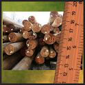 Объём круглых лесоматериалов