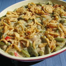 Green Bean Casserole With Bacon and Wine