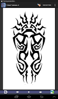 Screenshot of Tribal Tattoo Designs Set-2