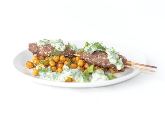 Lamb Kofte With Yogurt Sauce And Muhammara Recipes — Dishmaps