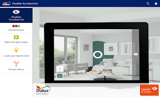 Screenshot of Dulux Visualizer IE
