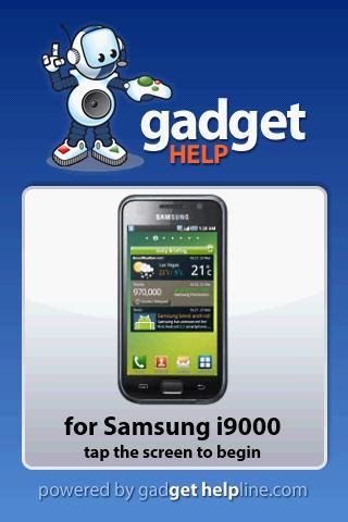 Samsung Galaxy - Gadget Help