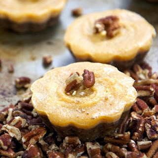 No Bake Pecan Pumpkin Pie Bites
