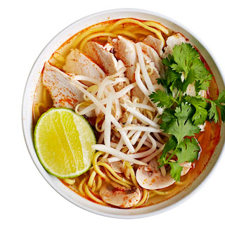Chicken And Noodle Tom Yum Soup