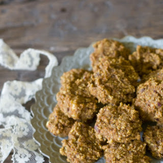 Vegan & Sugar-free Spiced Carrot Cake Cookies