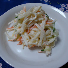 Quick Cranberry Coleslaw