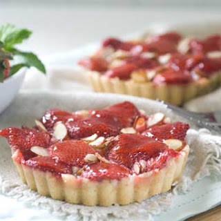 Gluten Free Strawberry Almond Tarts