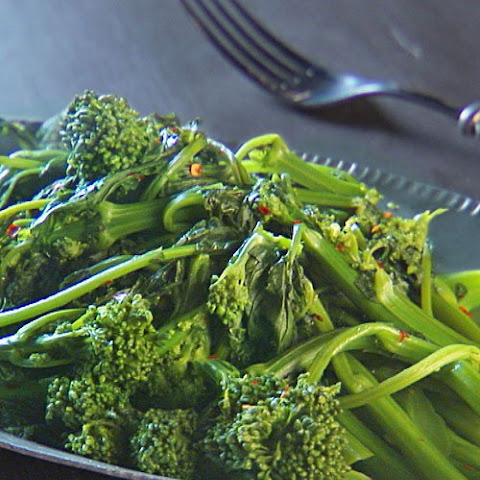 how to clean broccoli rabe